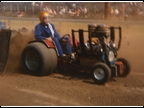Dan May driving Gary Clines Tractor (2)
